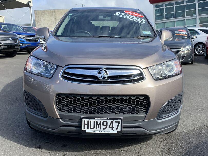 2014 Holden Captiva 4