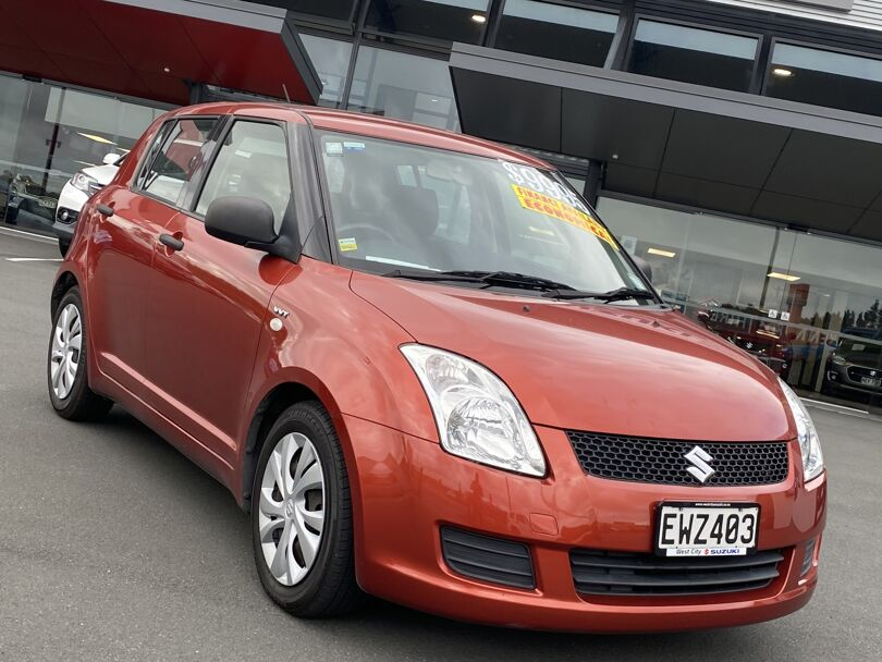 2009 Suzuki Swift 5