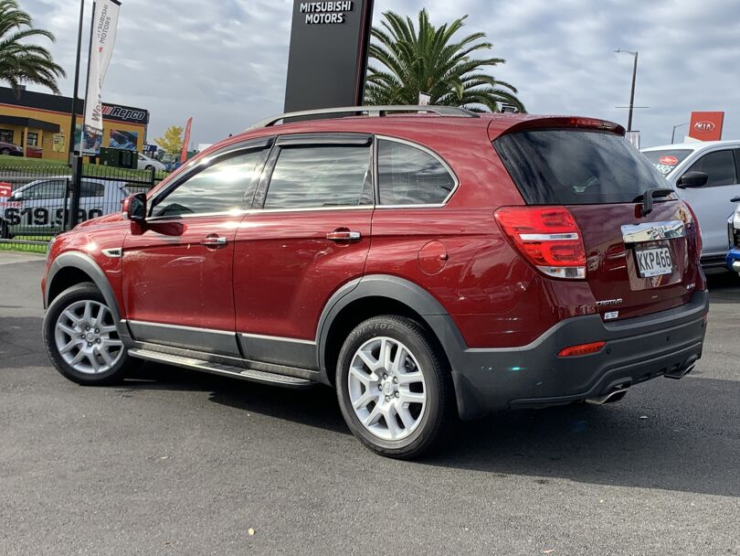 2017 Holden Captiva 5
