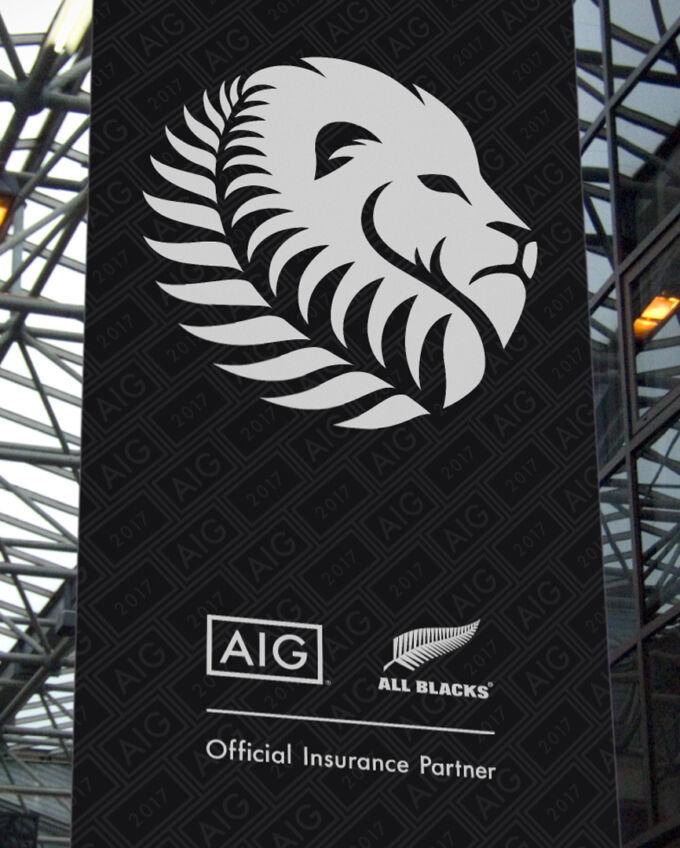 AIG Lions banner xpx