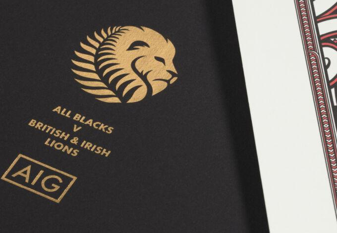 AIG Lions envelope xpx