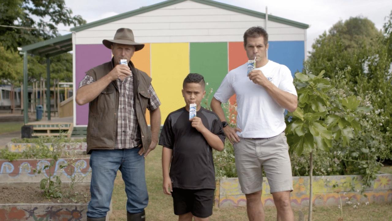 Fonterra Milk For Schools Farmer