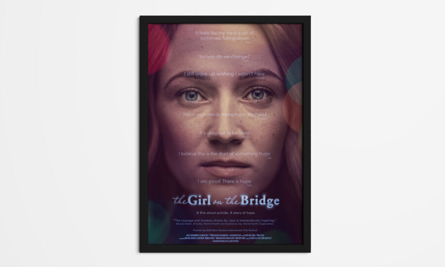 Girl on the Bridge poster