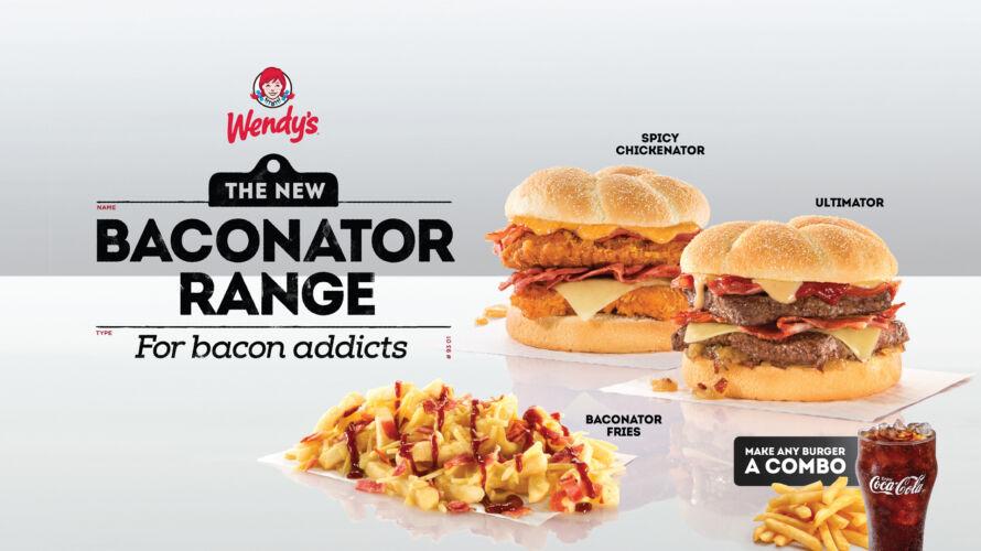 Wendys Baconator POS