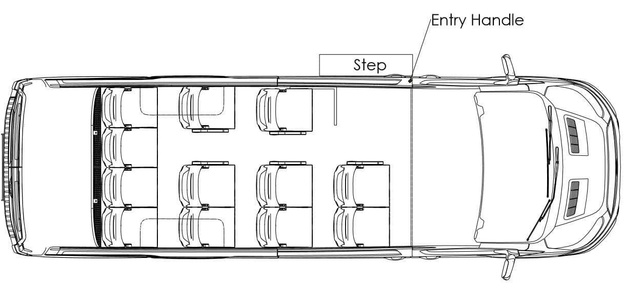 14 Seater Option 1