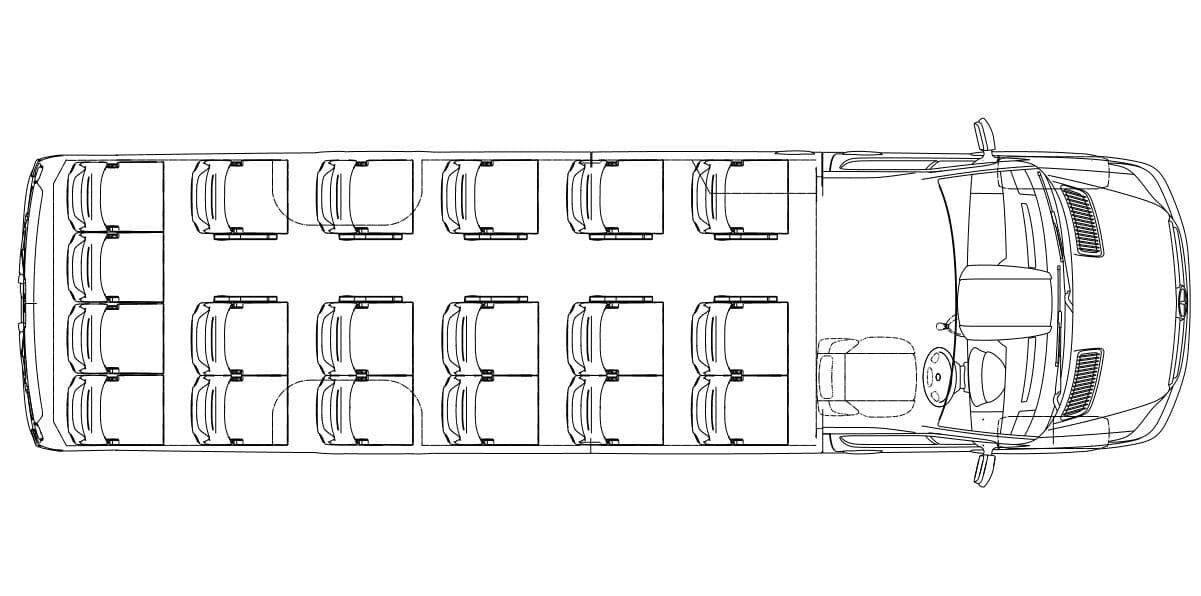 18 Seater Option 1