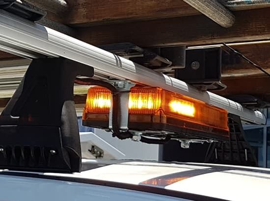 Beacon light for ute