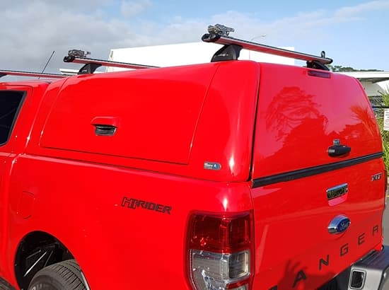 Custom hard ute canopy