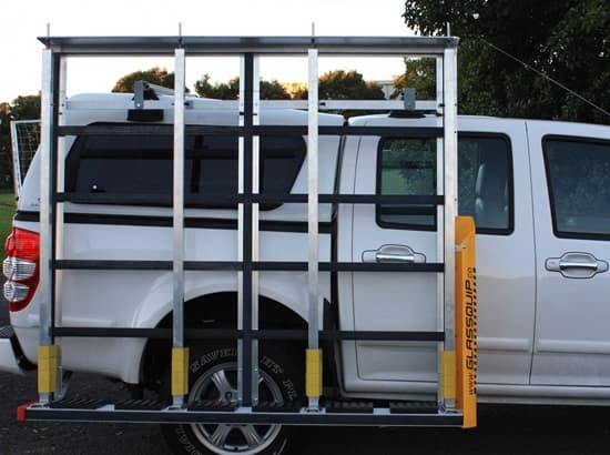 Glass transport system for ute