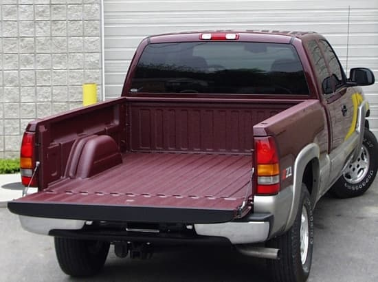 Spray on truck liner