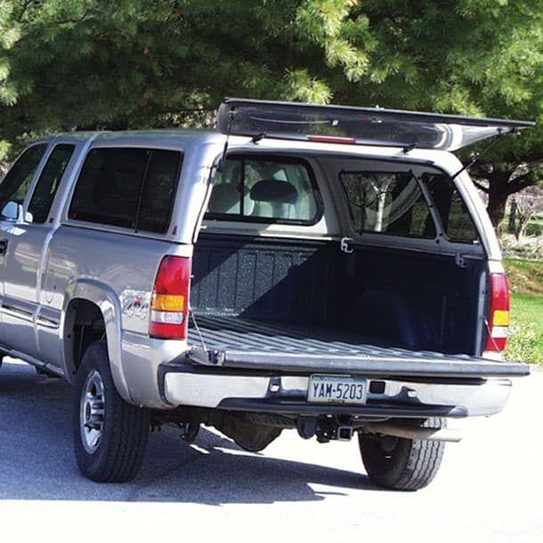 Silver truck 1