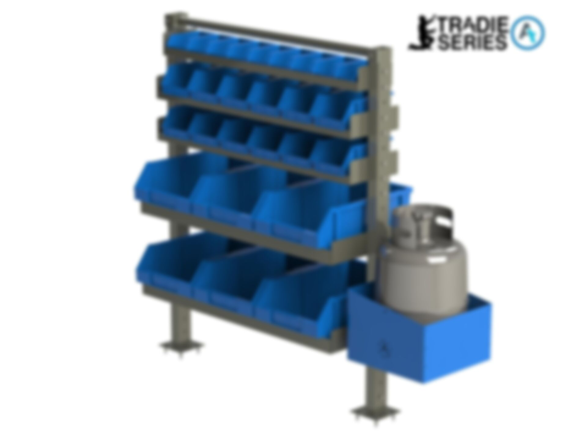 Trade Shelving 9kg Gas Bottle Holder 1