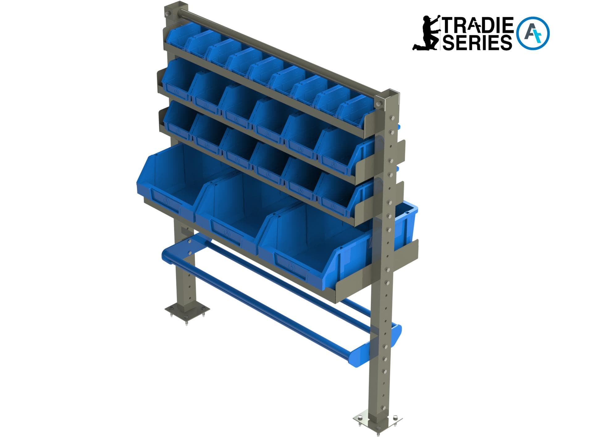 Trade Shelving cable holder