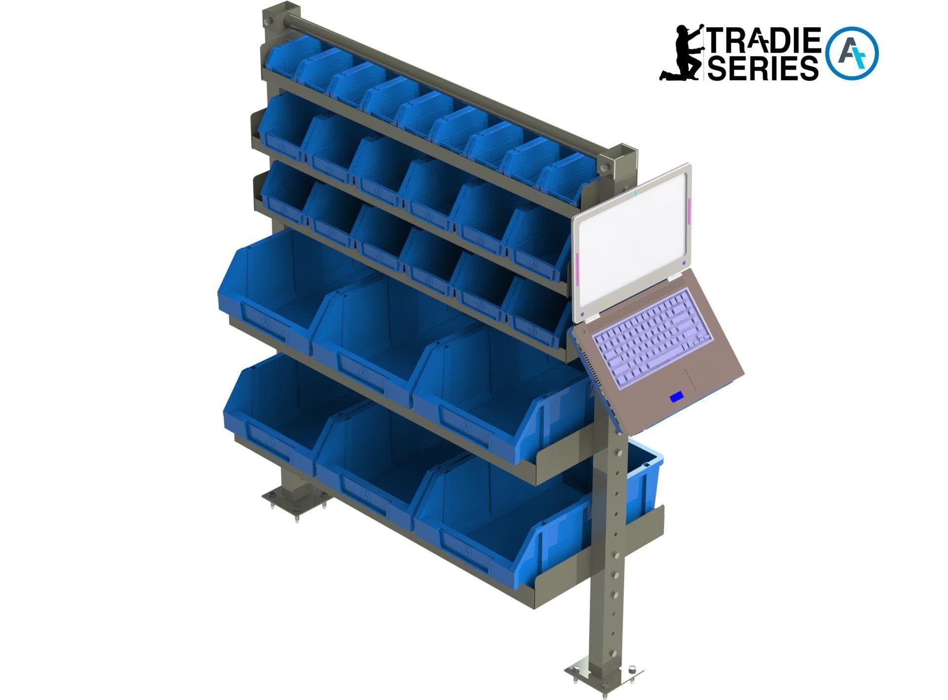 Trade Shelving laptop mount