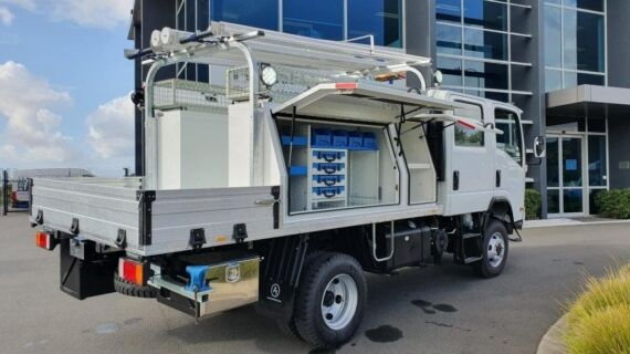 Commercial truck fitout