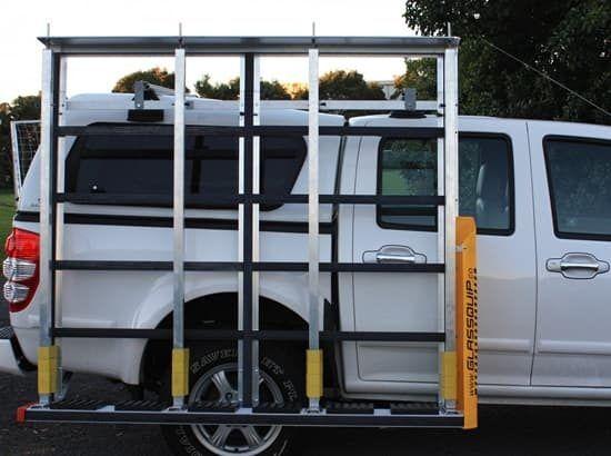 Glass transport system for ute