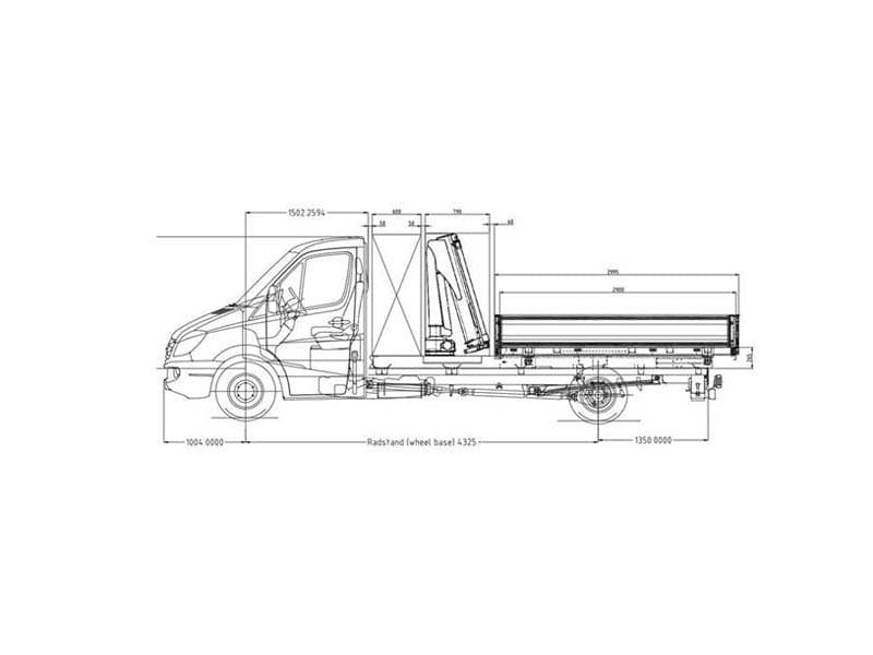 mb tipper truck