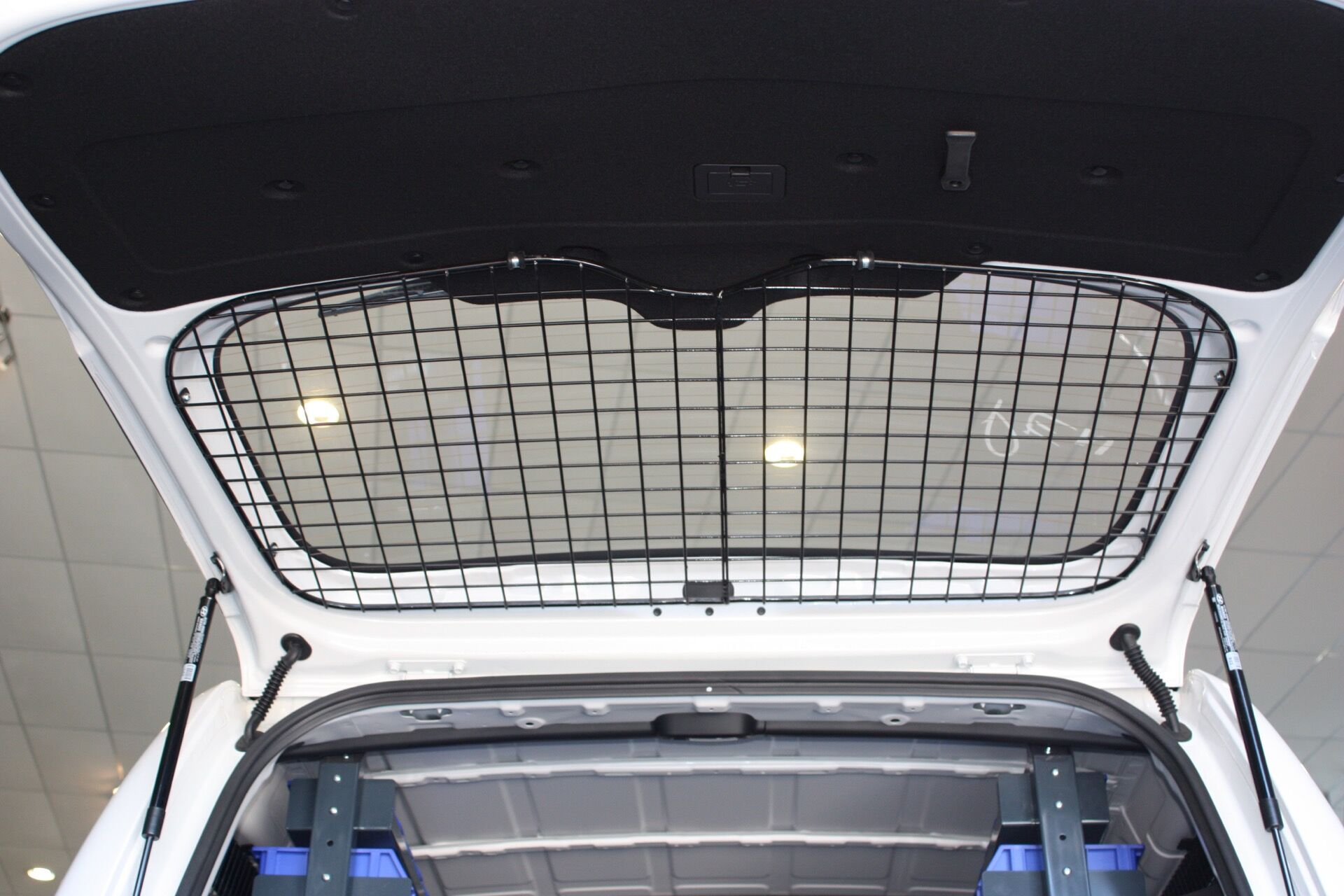 Mesh grill cage for back of ute
