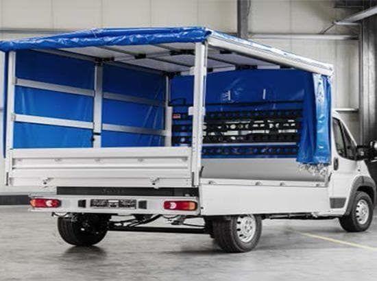 Truck tarpaulin frame