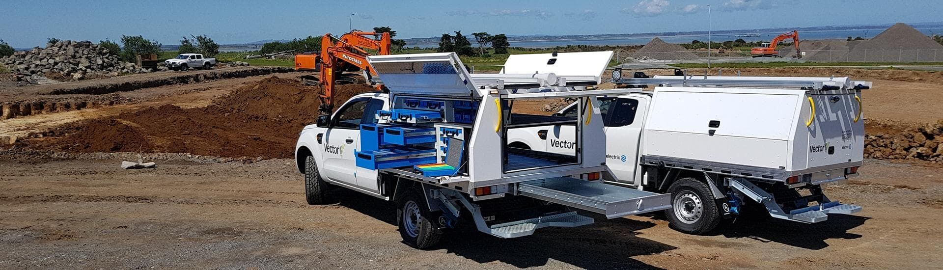 Commercial Vehicle Fitout - Ute Service Body with Tool Boxes