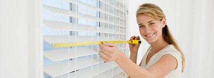 measuring for blinds