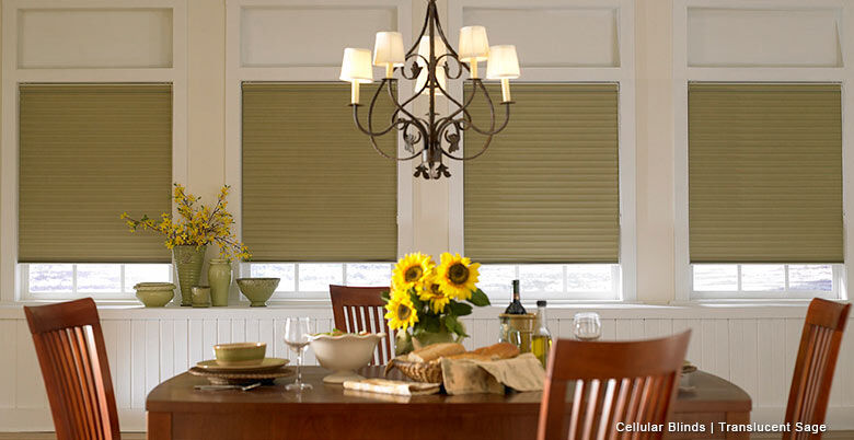 Translucent Honeycomb blinds2
