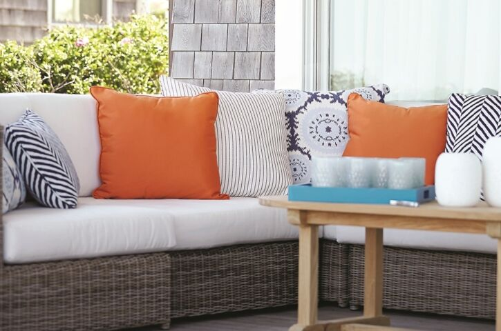 AFTER_orange_navy_blue_stripes_woven_sunbrella_kingsley_bate_porch_patio