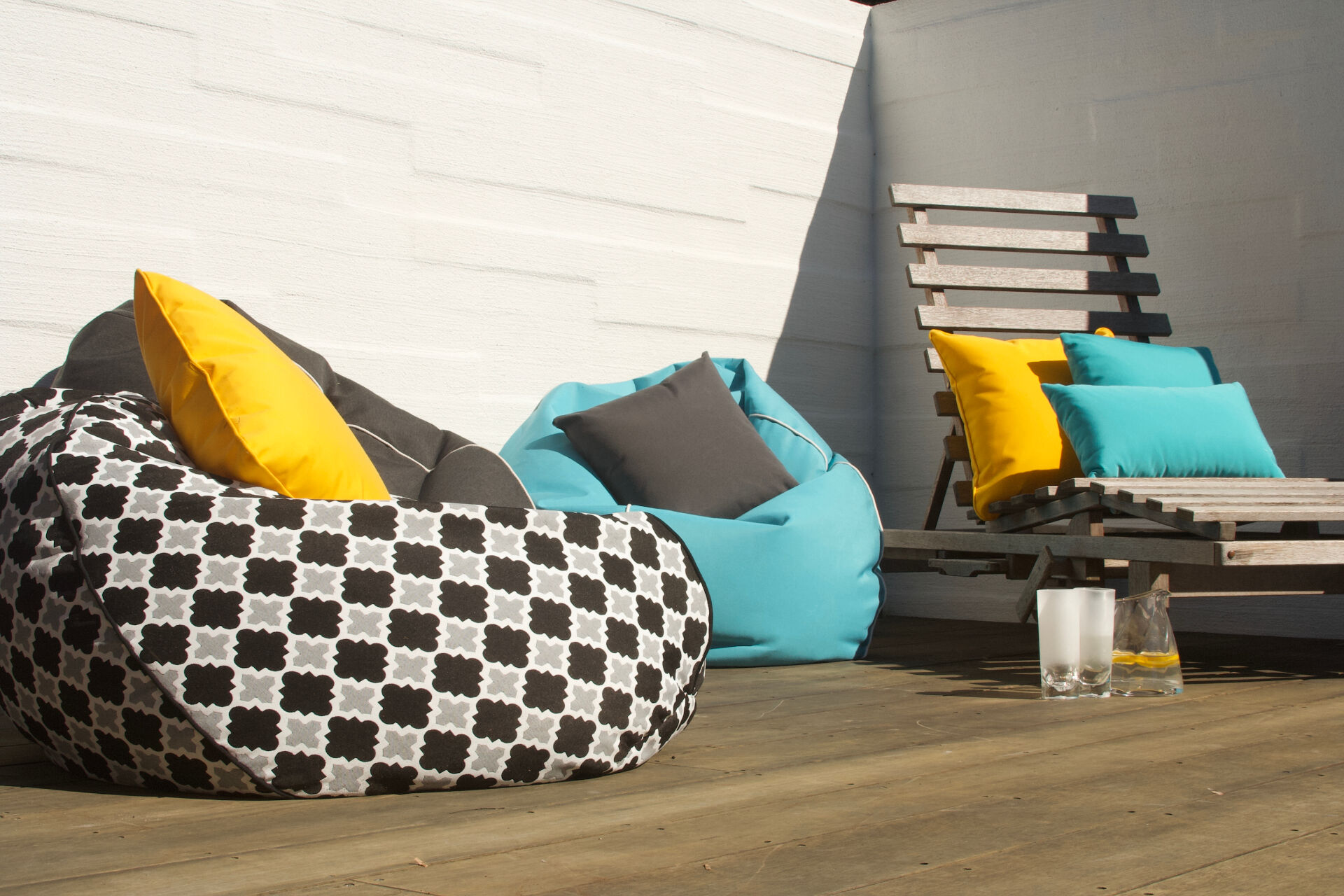 Outdoor Beanbags 1