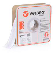 velcro brand self adhesive hook mm white roll