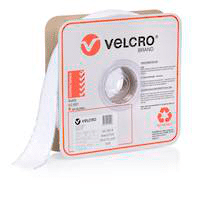 velcro brand self adhesive loop mm white roll