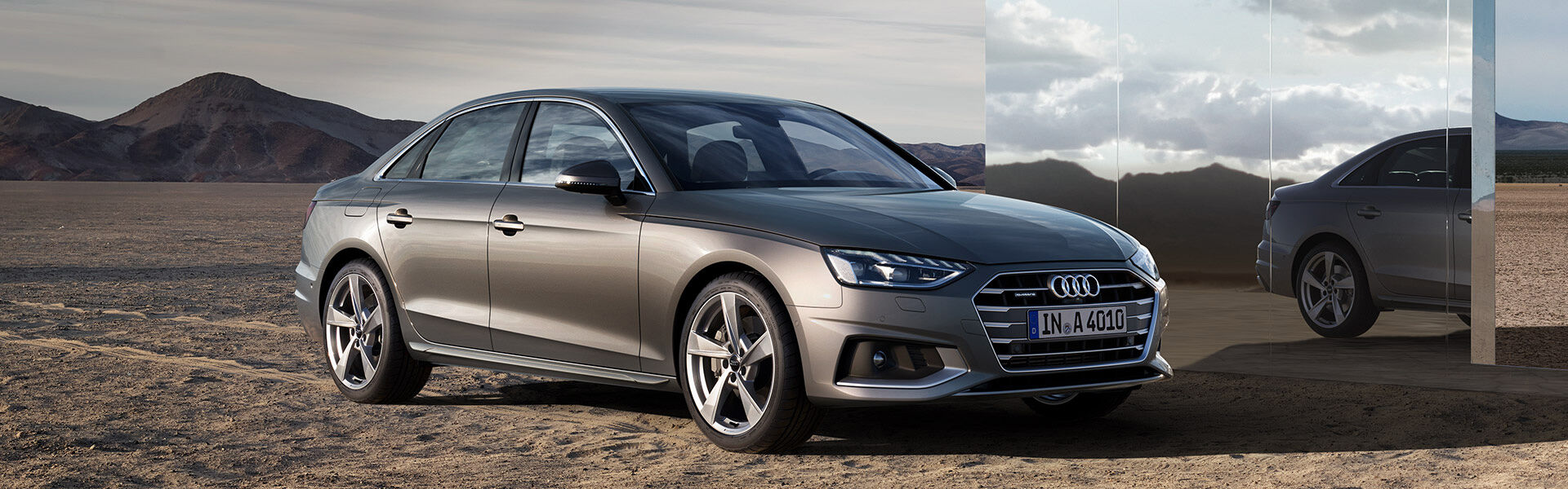 The all-new A4 Sedan
