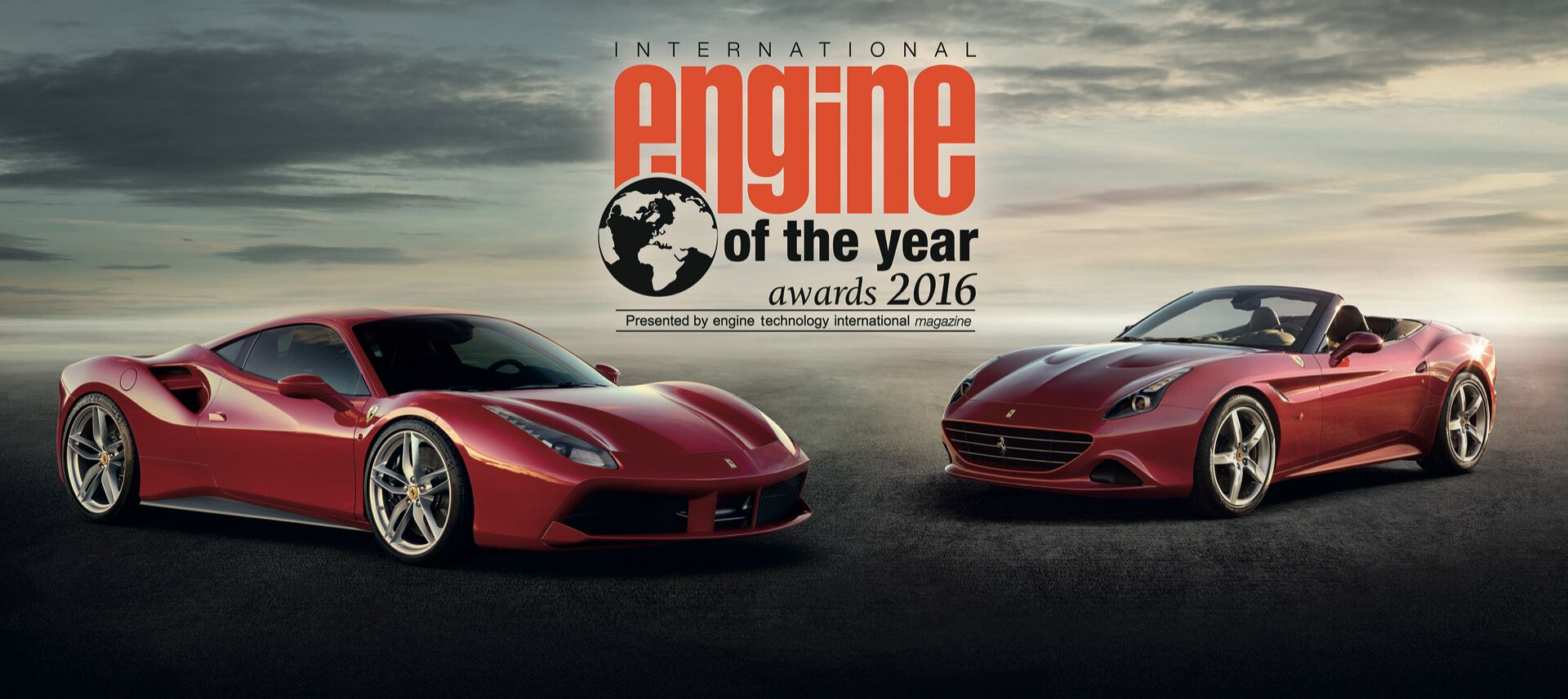Ferrari overall winner at International Engine Awards 2016