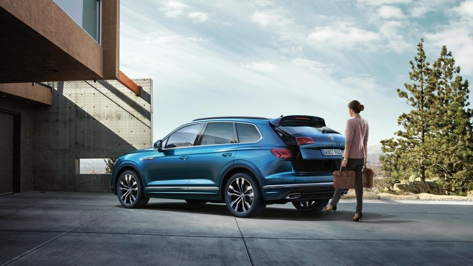 vw touareg every day easier