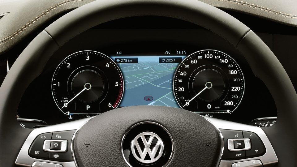 vw touareg technology