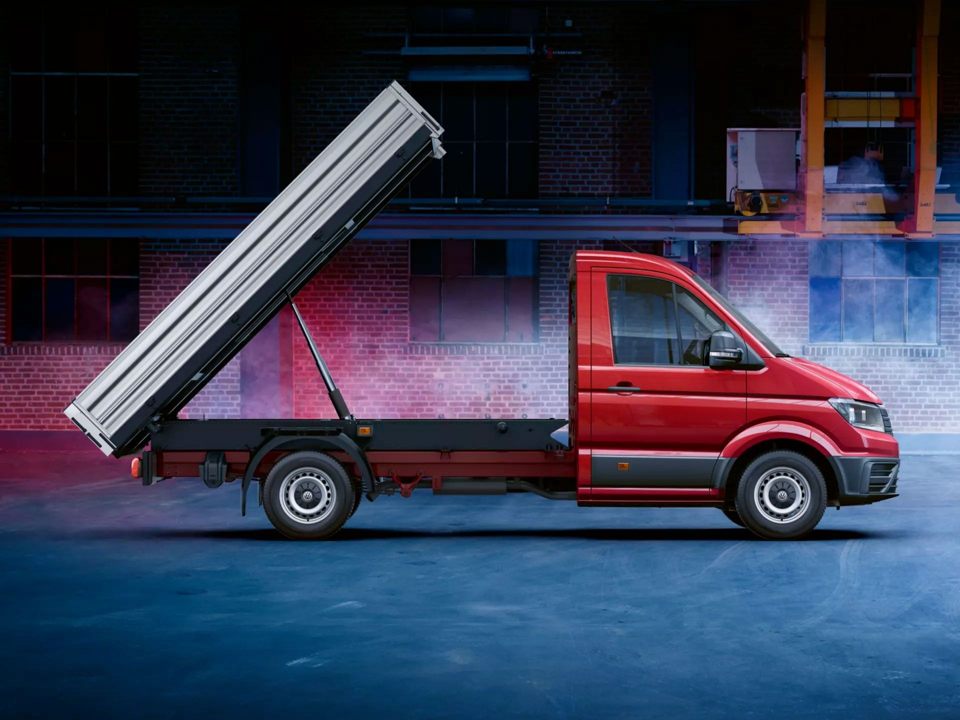 cc vw crafter cab chassis gallery