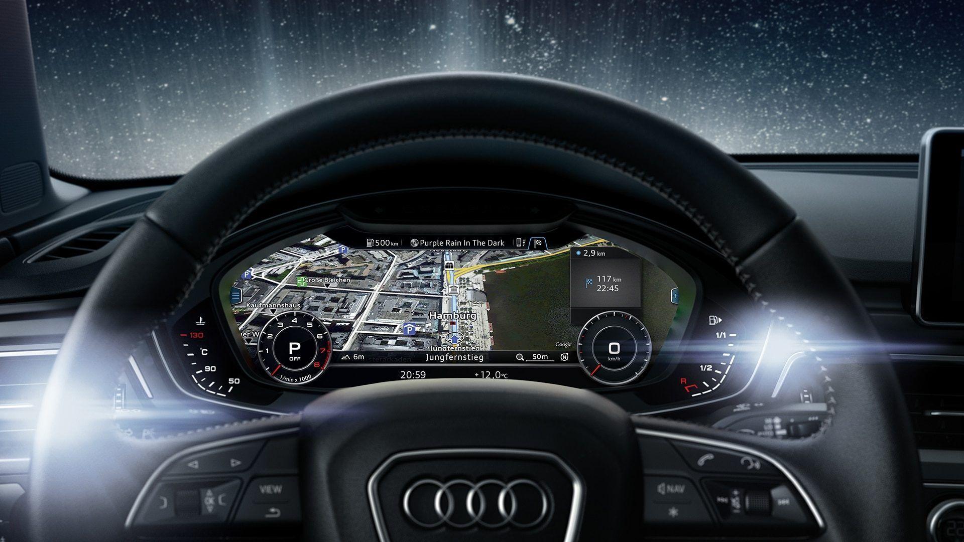 audi a avant virtual cockpit
