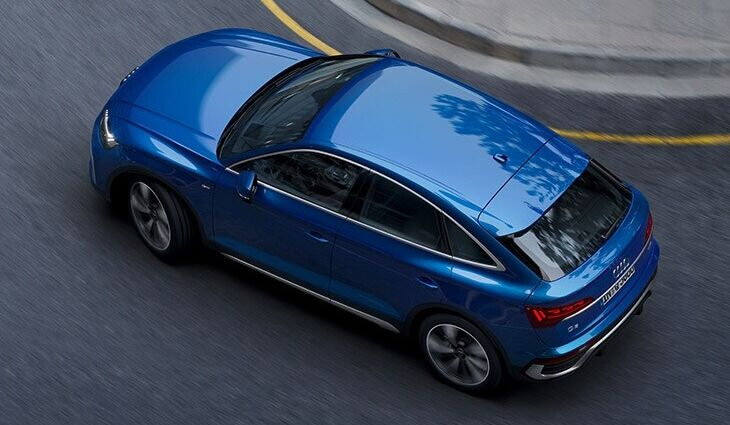 audi q sportback my birds eye