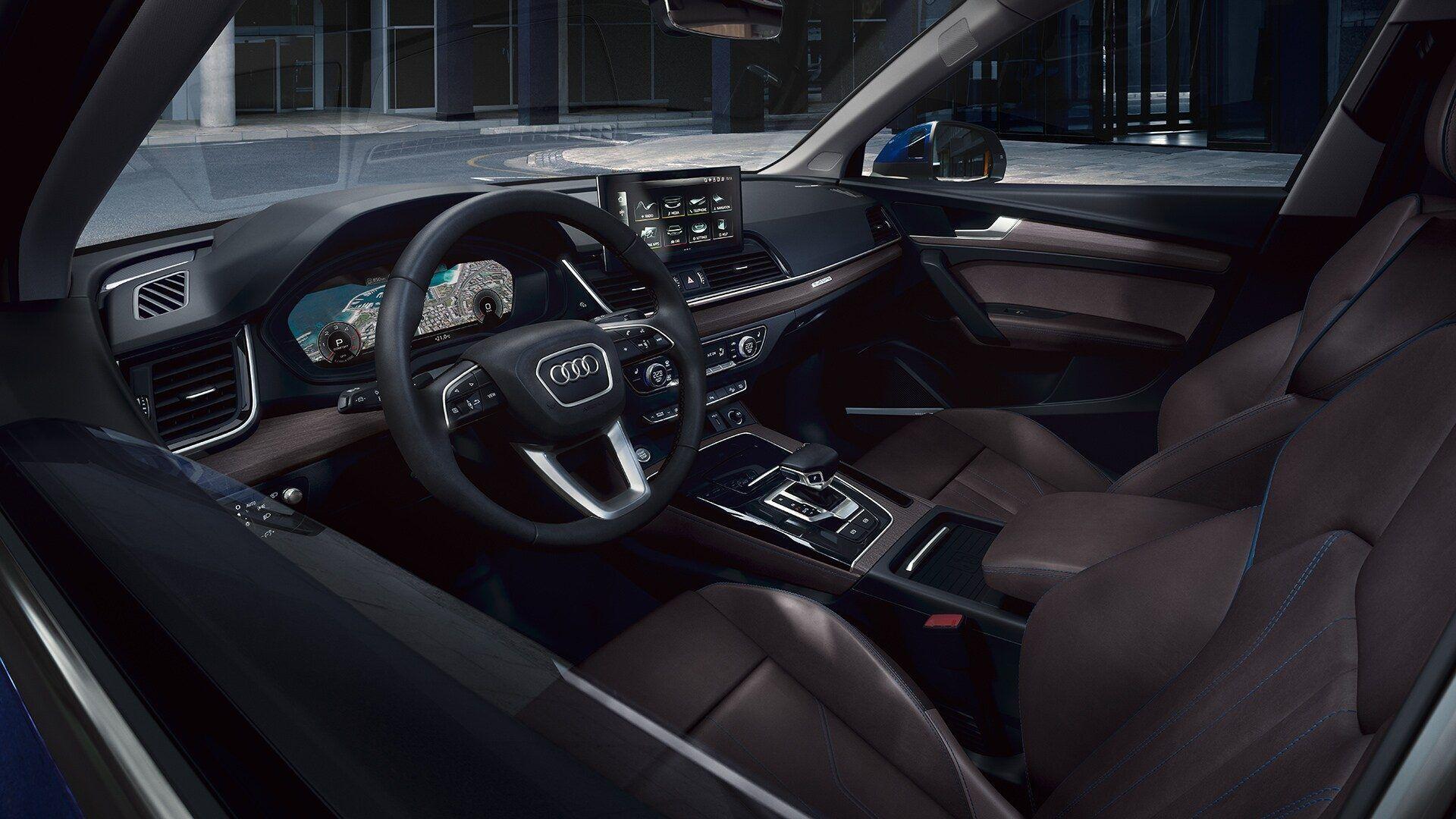 audi q sportback my interior cockpit