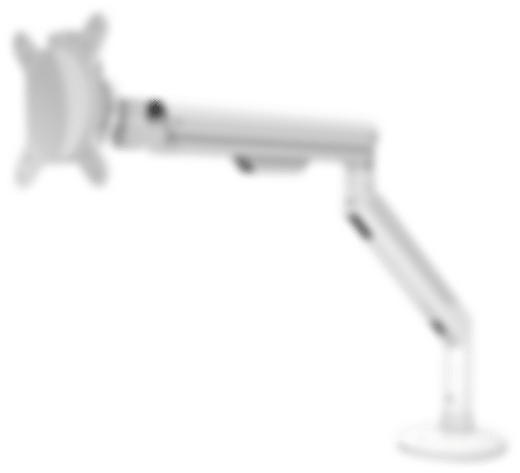 products E monitor arm white