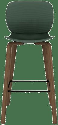 products Maari wood base high stool