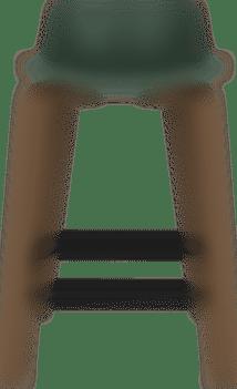 products Maari wood base stool low back