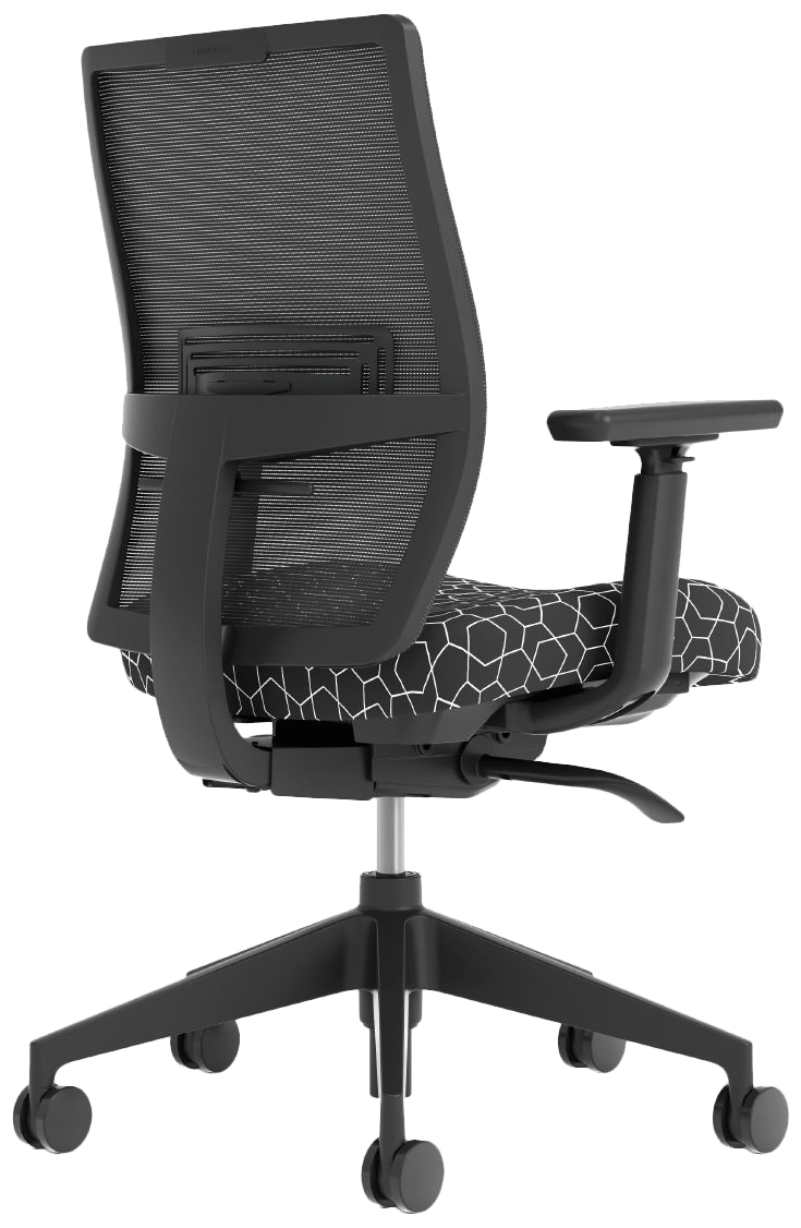 products aloha active black and white seat