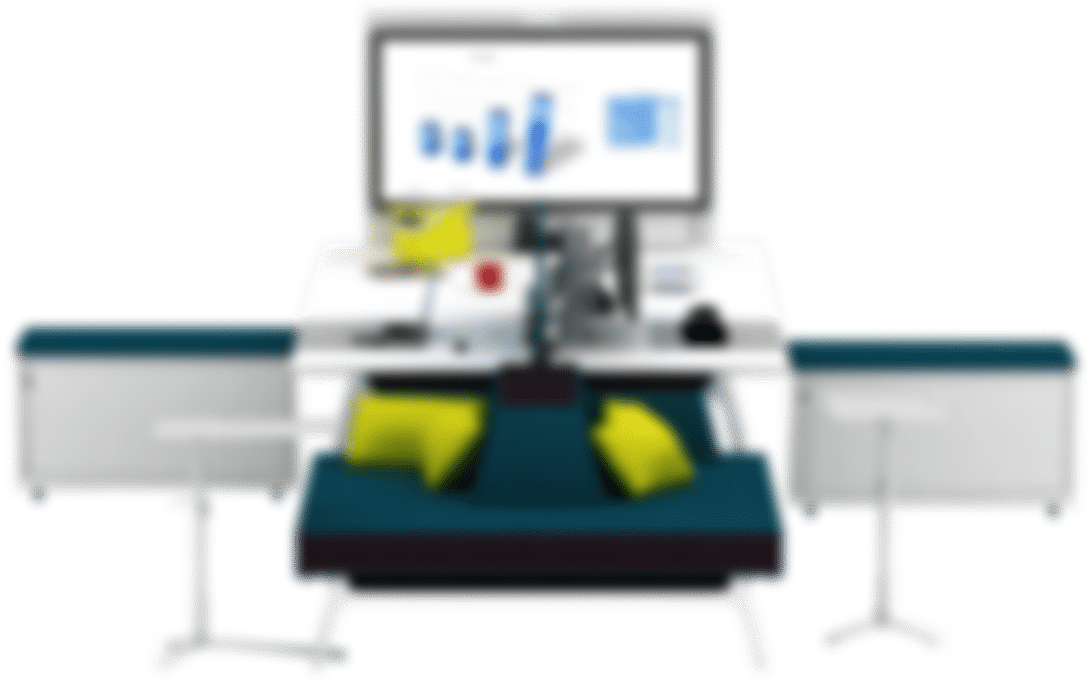 products intuity desk setting