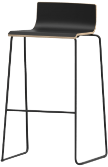 products liberty barstool sled black