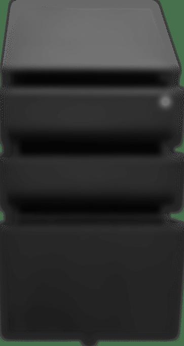 products pedestal black open