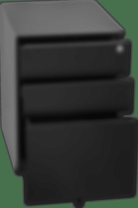 products pedestal black side open