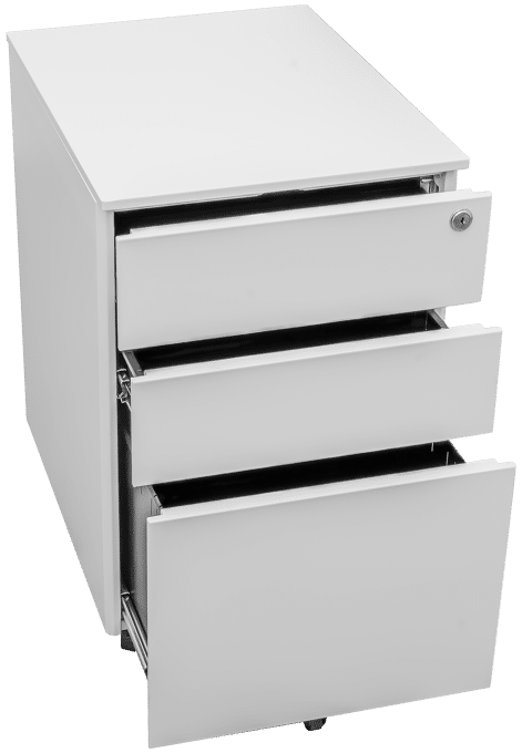 products pedestal white open