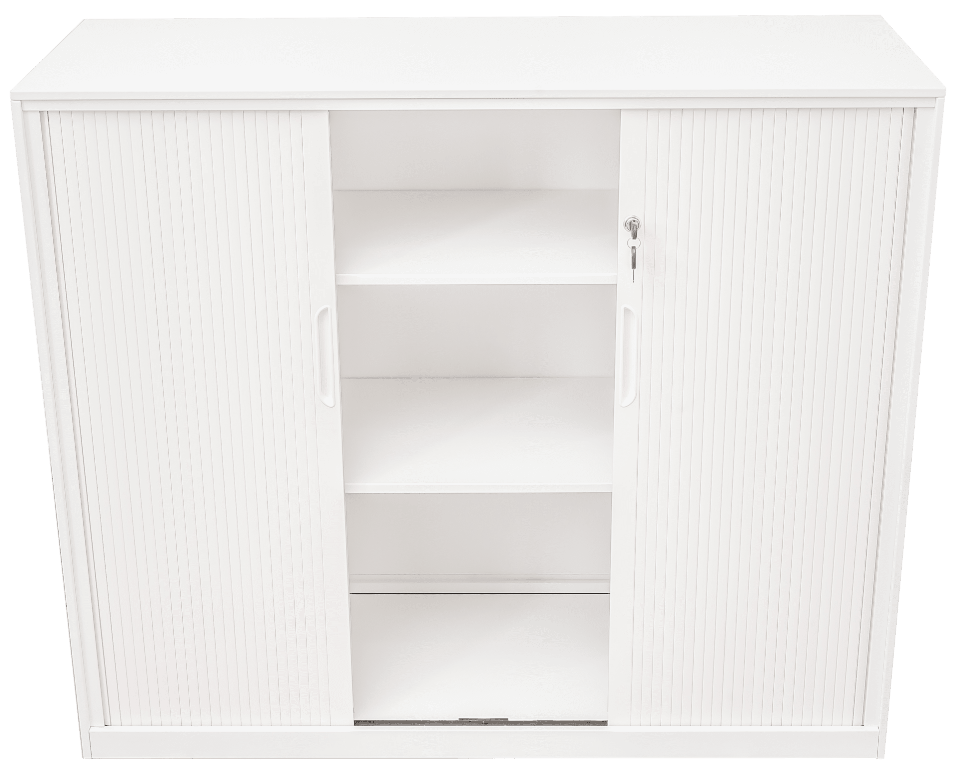 products proceed tambour 3tier white open