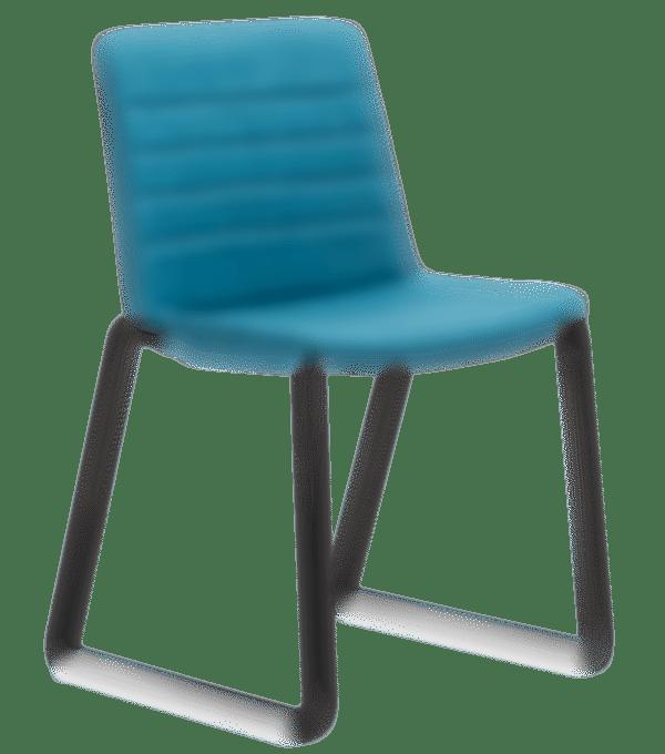 products Jubel black sled upholstered stitching
