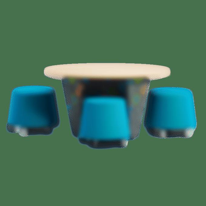 products huddle buddle table